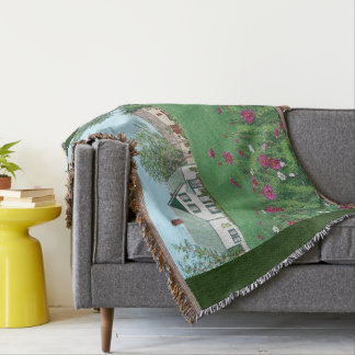 Anne of Green Gables Throw Blanket