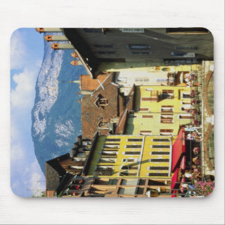 Annecy and Alps in summer, Savoie, France Mousepad