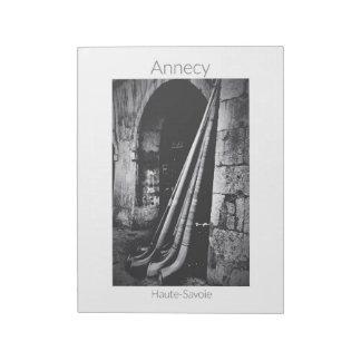 """Annecy - Fête des Alpages(11""""x8.5"""") Notepad"""