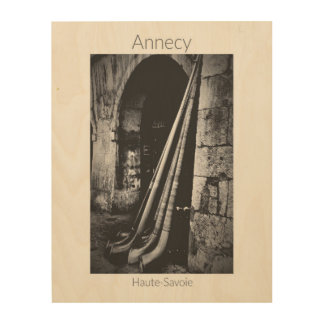 Annecy - Fête des Alpages Wood Wall Art