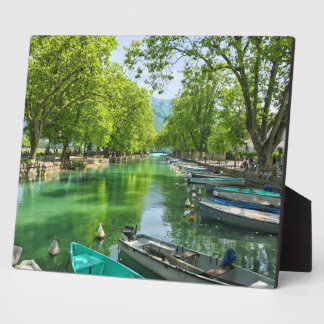 Annecy Plaque with Easel