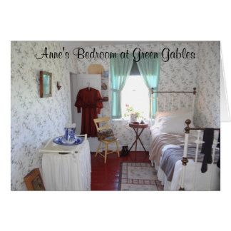 Anne's Bedroom at Green Gables Card
