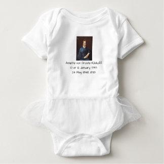 Annette von Droste-Hulshoff 1838 Baby Bodysuit