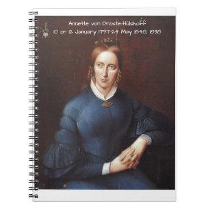 Annette von Droste-Hulshoff 1838 Notebook