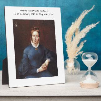 Annette von Droste-Hulshoff 1838 Plaque