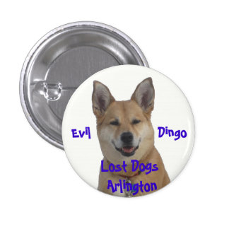 annie1234, Lost Dogs Arlington, Evil           ... 3 Cm Round Badge