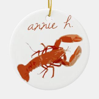Annie H. Ceramic Ornament