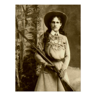 Annie Oakley Classic Poster