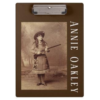 Annie Oakley Sharpshooter  Clipboard