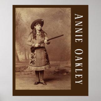 Annie Oakley Sharpshooter  Poster