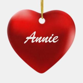 Annie Ornament Heart