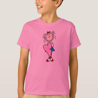 Annie With Huge Heart Shirt