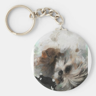 Annies silken weavessml key ring
