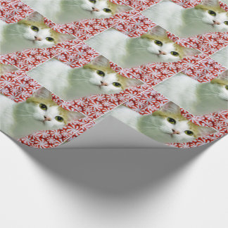 Annie's Sweet Christmas (Cat / Kitten ) Wrapping Paper