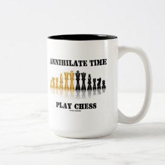 Annihilate Time Play Chess (Reflective Chess Set) Coffee Mug