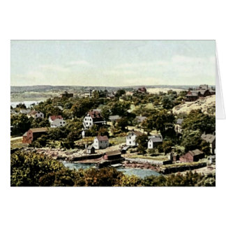 Annisquam Village, Gloucester, Massachusetts Card