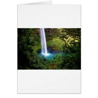 Anniversaries Wedding Waterfall Forest Destiny Card