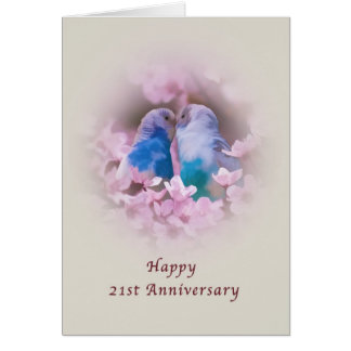 21st Wedding Anniversary Cards Invitations Photocards Amp More