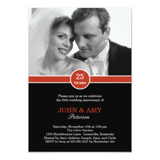 Anniversary Band Anniversary Invitation