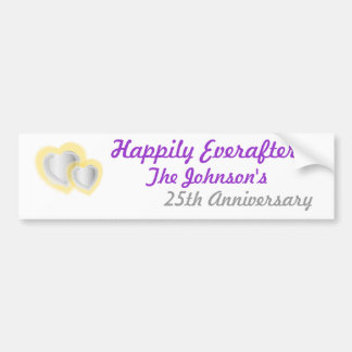 Anniversary Bumper Sticker... - Customized Bumper Sticker