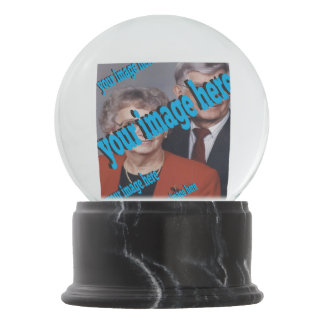 Anniversary Create your Own Snow Globes