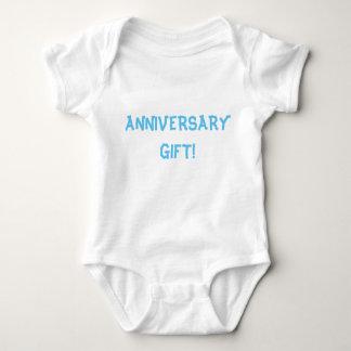 """""""ANNIVERSARY GIFT!"""" BABY BODYSUIT"""