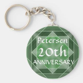 Anniversary Jewel Key Ring