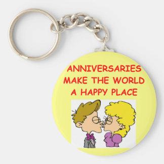 anniversary key chains
