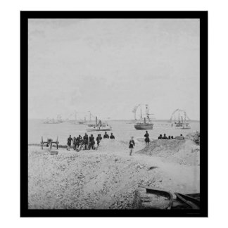 Anniversary of Surrender at Fort Sumter 1865 Posters