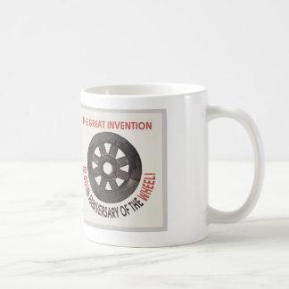 anniversary of the wheel coffee mug