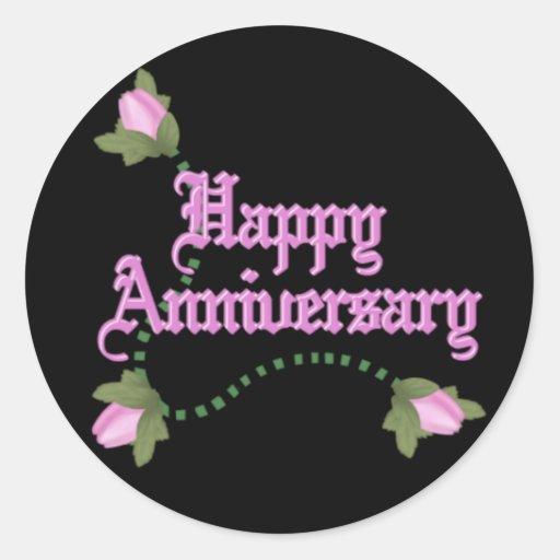 Anniversary Roses Sticker