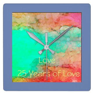 Anniversary .wall clock