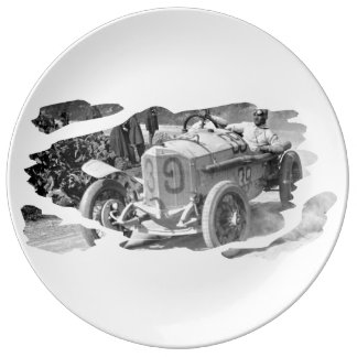 Anno 1922 Targa Florio Porcelain Plates