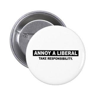 ANNOY A LIBERAL TAKE RESPONSIBILITY PIN