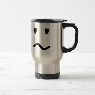 Annoyed Face Travel Mug