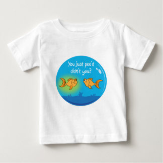 Annoyed Goldfish Baby T-Shirt