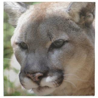 Annoyed Mountain Lion Napkin