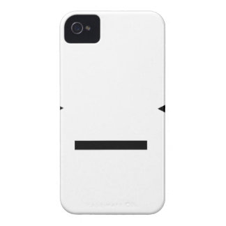 Annoyed / Troubled emoticon >_< iPhone 4 Case-Mate Case