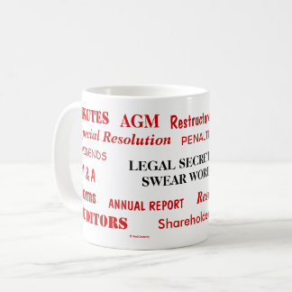 Annoying Funny Legal Secretary Swear Words Coffee Mug
