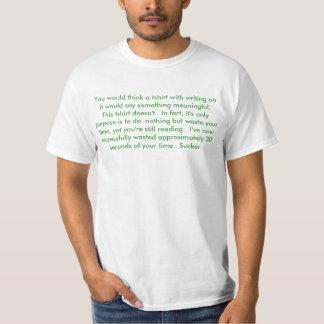 Annoying tshirt