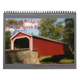 Annual North East Covered Bridges wall Calendar