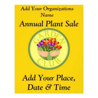 Annual Plant Sale Flyer
