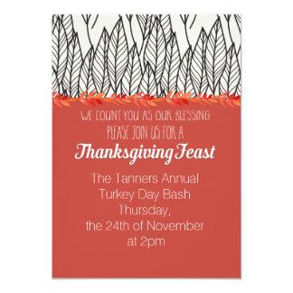 Annual Thanksgiving Feast Invite