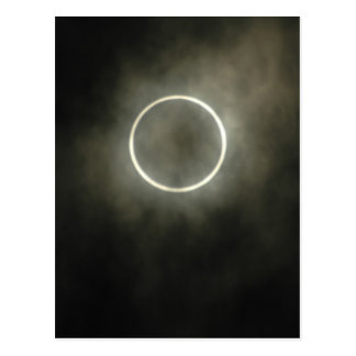 Annular Solar Eclipse Postcard
