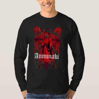 "Annunaki Custom ""Angel"" Black Long Sleeve Tee"