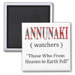 Annunaki From Heaven to Earth Fell Square Magnet