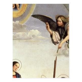 Annunciation and Saints Postcard