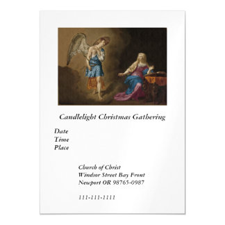 Annunciation Angel and Mary Magnetic Invitations