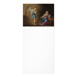 Annunciation Angel and Mary Rack Card
