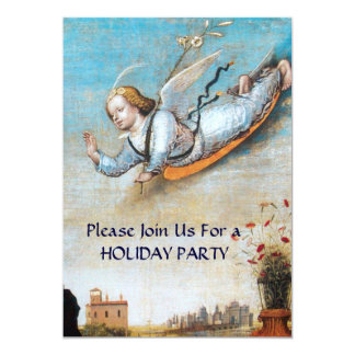 ANNUNCIATION ANGEL CHRISTMAS PARTY CARD